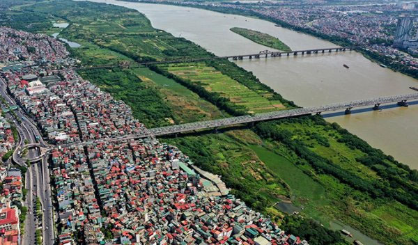 quy hoạch đô thị ven sông hồng