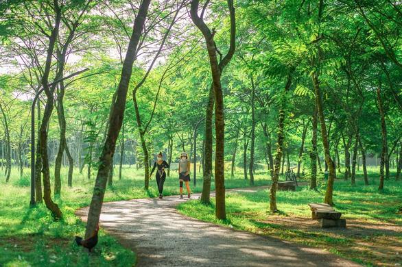 không gian xanh tại ecopark